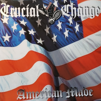 CRUCIAL CHANGE - AMERICAN MADE LP blau 200 Ex.