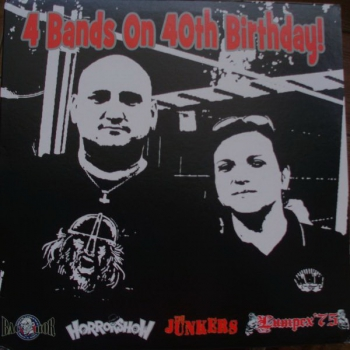 V.A. - 4 BANDS ON 40TH BIRTHDAY LP