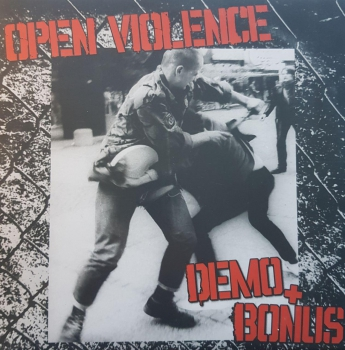 OPEN VIOLENCE - DEMO + BONUS 10'LP 69 Ex.
