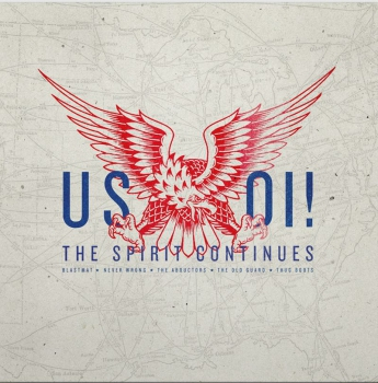 US OI! / THE SPIRIT CONTINUTES CD 200 Ex.