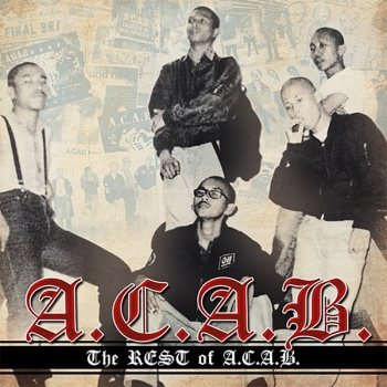 A.C.A.B. - WHERE HAVE ALL THE BOOTBOYS GONE ? LP+CD ROTES VINYL 250 Ex.