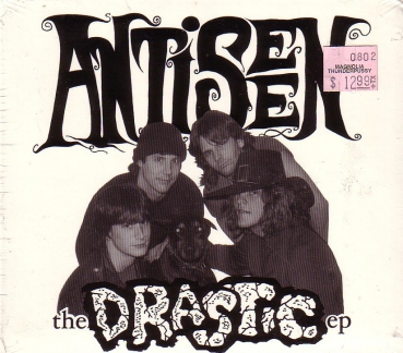 ANTISEEN - THE DRASTIC / N.C. ROYALITY Digipack CD