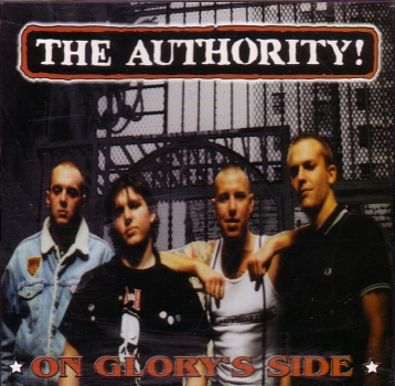 AUTHORITY! - ON GLORY'S SIDE CD