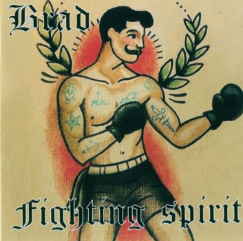 BRAD - FIGHTING SPIRIT LP schwarz 200 Ex.