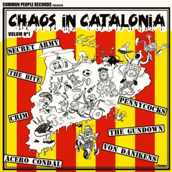 V/A - CHAOS IN CATALONIA LP