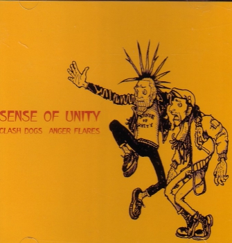 CLASH DOGS / ANGER FLARES – SENSE OF UNITY MCD