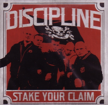 DISCIPLINE - STAKE YOUR CLAIM Klappcover LP