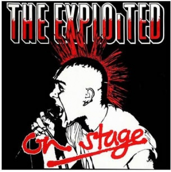EXPLOITED - ON STAGE LP