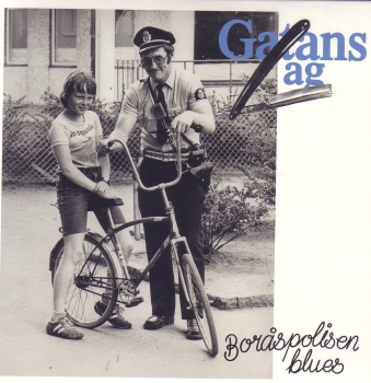 GATANS LAG - BORASPOLISEN BLUES EP