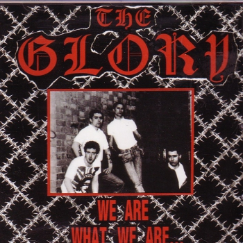 GLORY – WE ARE WHAT WE ARE CD