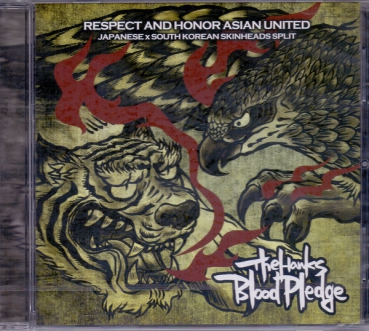 HAWKS / BLOOD PLEDGE - RESPECT & HONOR ASIAN UNITED CD