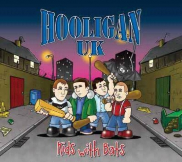 HOOLIGAN UK – KIDS WITH BATS LP weiß