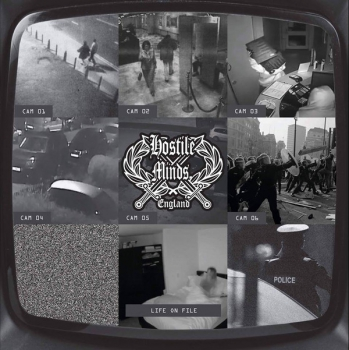 HOSTILE MINDS - LIFE ON FILE EP