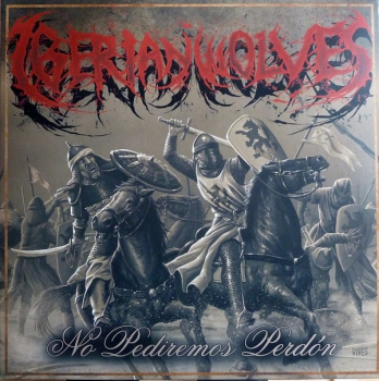 IBERIAN WOLVES - IBERIAN METAL CIRCLE LP 300 Ex.