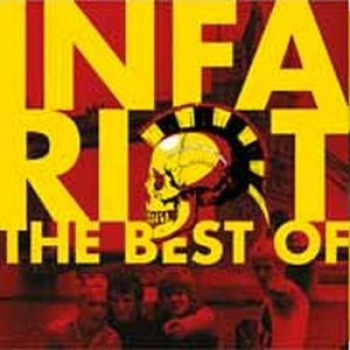 INFA RIOT - THE BEST OF Klappcover DoLP gelbes Vinyl