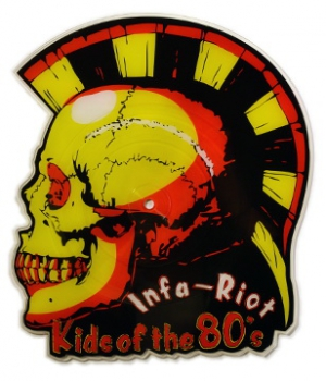 INFA RIOT – KIDS OF THE 80TIES 10' SHAPE Pic EP