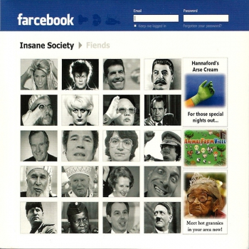 INSANE SOCIETY - FARCEBOOK CD