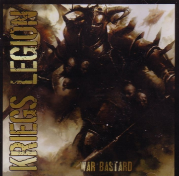 KRIEGS LEGION - WAR BASTARD CD