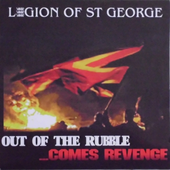 LEGION OF ST. GEORGE - OUT OF THE RUBBLE LP rot/grün 294 Ex.