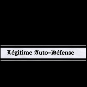 LEGITIME AUTO- DEFENSE - SAME CD