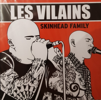 Les Vilains ‎– Skinhead Family CD