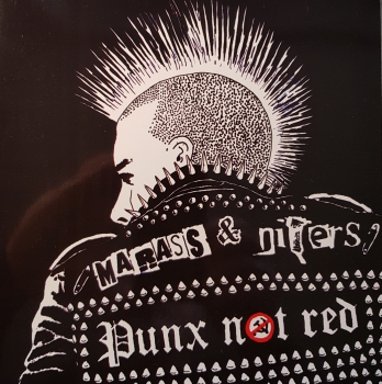 MARASS VS NITERS - PUNKS NOT RED EP Cover 2