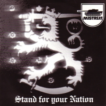 MISTREAT - STAND FOR YOUR NATION EP clear wax