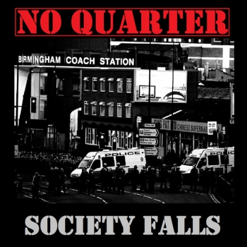 NO QUARTER - SOCIETY FALLS Digipack CD