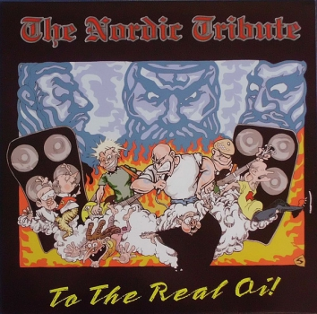 THE NORDIC TRIBUTE TO THE REAL OI! LP