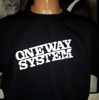 ONE WAY SYSTEM -T-Shirt - schwarz