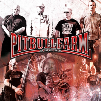 PITBULLFARM - OUR TIME WILL COME EP schwarz 300 Ex.