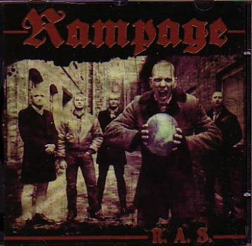 RAMPAGE – ROCK AGAINST SOCIETY (rotes Vinyl) LP