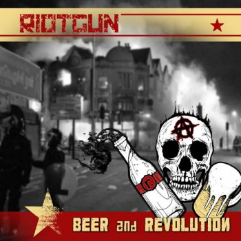 RIOTGUN - BEER & REVOLUITION LP orange/grün