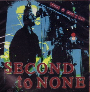 SECOND TO NONE – WRECK OF ROCK'N'ROLL CD