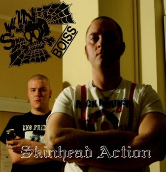 SKINBOISS – SKINHEAD ACTION LP