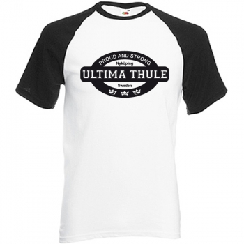 ULTIMA THULE - Proud & Strong Base-Shirt,weiß/black