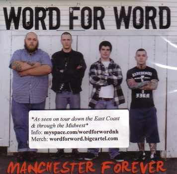 WORD FOR WORD - MANCHESTER FOREVER CD