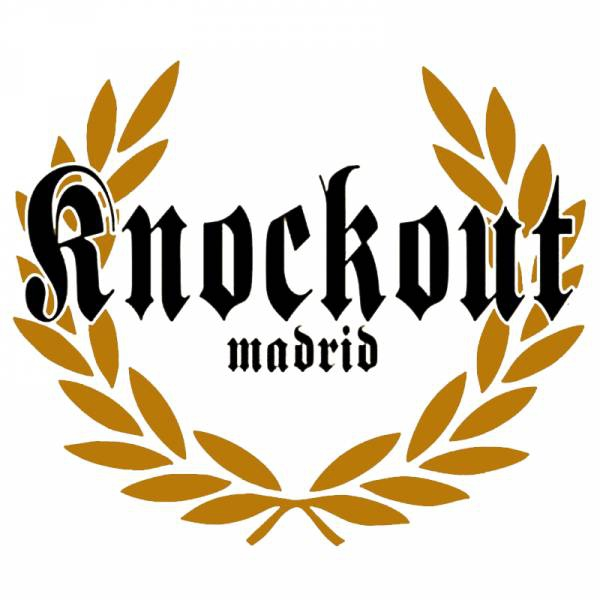 KNOCK OUT - ROCK'N'ROLL SKINHEADS EP gold/weiß 218 Ex.