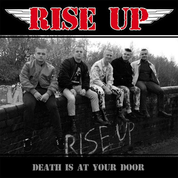 RISE UP - DEATH IS AT YOUR DOOR EP schwarz