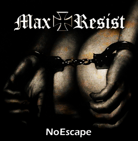 MAX RESIST - NO ESCAPE LP schwarz 198 Ex.