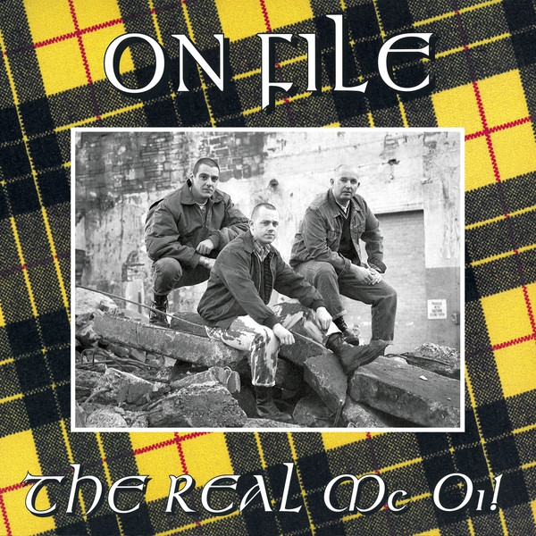 ON FILE - THE REAL MC OI! LP