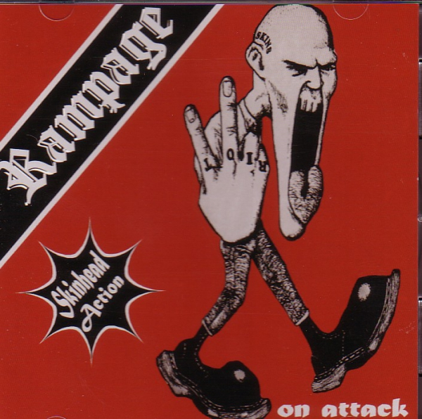 RAMPAGE – ON ATTACK CD