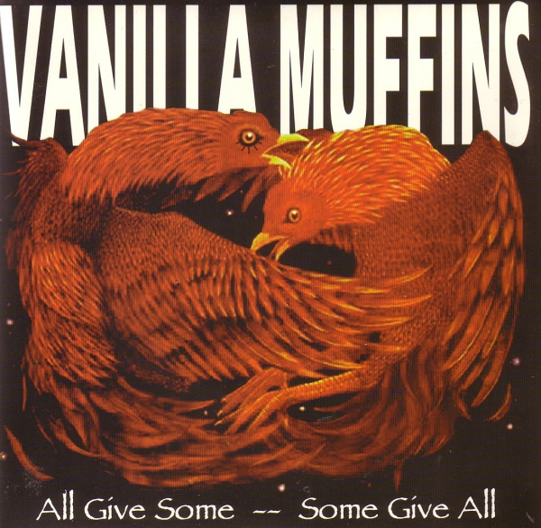 VANILLA MUFFINS - ALL GIVE SOME / SOME GIVE ALL DoEP orange