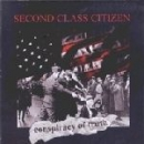 SECOND CLASS CITIZEN - CONSPIRACY OF TRUTH CD