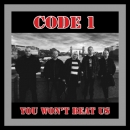 CODE 1 - YOU WONT BEAT US LP grau