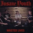 INSANE YOUTH – WASTED LIVES CD