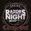RAZORS IN THE NIGHT – CARRY ON! CD